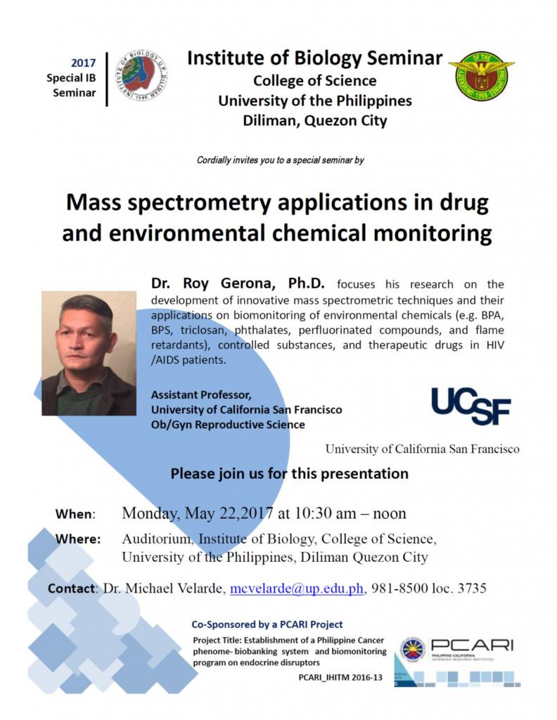 Dr Roy Seminar_UCSF