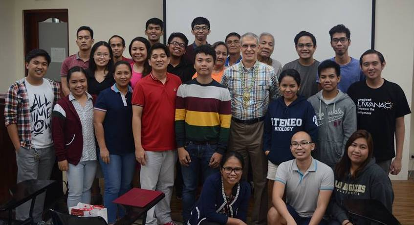 Participants of the Aquatic Insect Taxonomy workshop facilitated by Dr. John Morse.