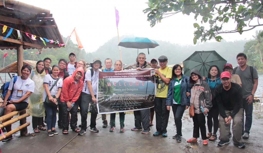 Lake Pandin participants